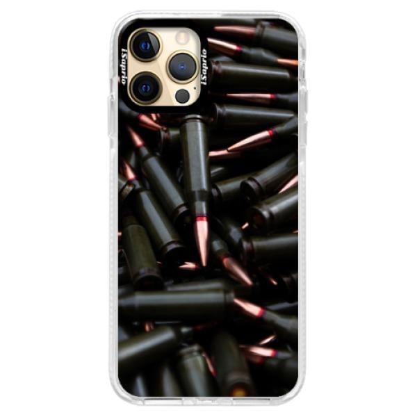Silikonové pouzdro Bumper iSaprio - Black Bullet - iPhone 12 Pro Max