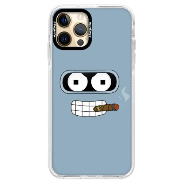 Silikonové pouzdro Bumper iSaprio - Bender - iPhone 12 Pro Max