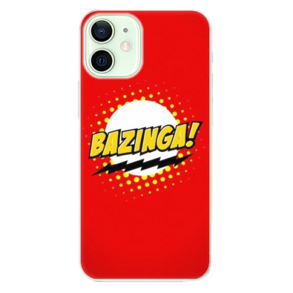 Odolné silikonové pouzdro iSaprio - Bazinga 01 - iPhone 12 mini