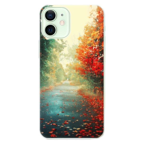 Odolné silikonové pouzdro iSaprio - Autumn 03 - iPhone 12 mini
