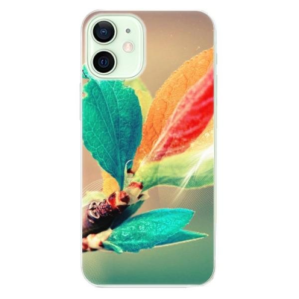 Odolné silikonové pouzdro iSaprio - Autumn 02 - iPhone 12 mini