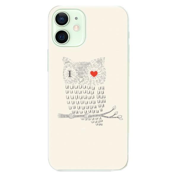 Odolné silikonové pouzdro iSaprio - I Love You 01 - iPhone 12 mini