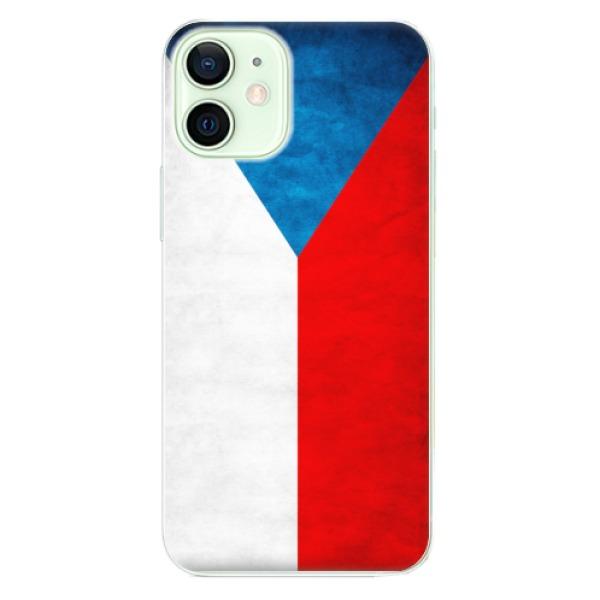 Odolné silikonové pouzdro iSaprio - Czech Flag - iPhone 12 mini