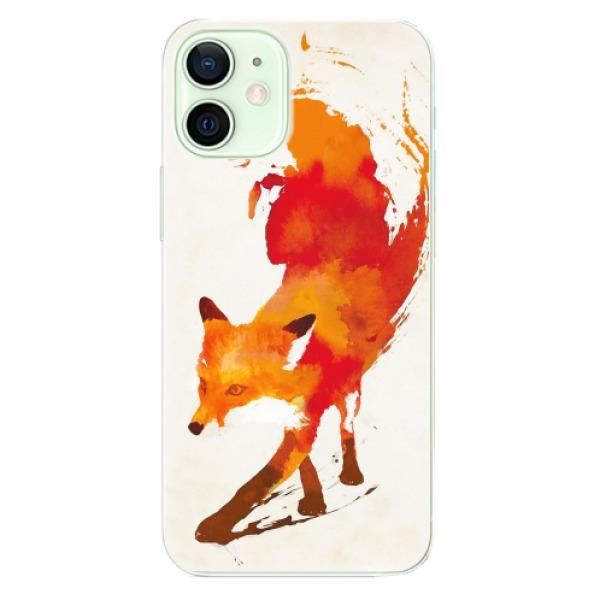 Odolné silikonové pouzdro iSaprio - Fast Fox - iPhone 12 mini