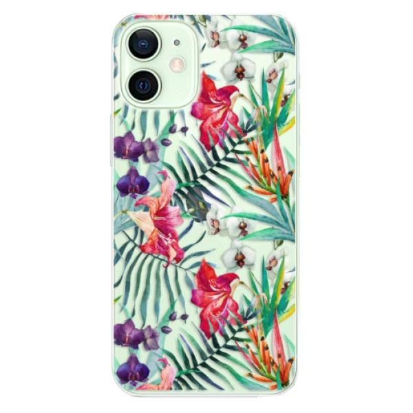 Odolné silikonové pouzdro iSaprio - Flower Pattern 03 - iPhone 12 mini