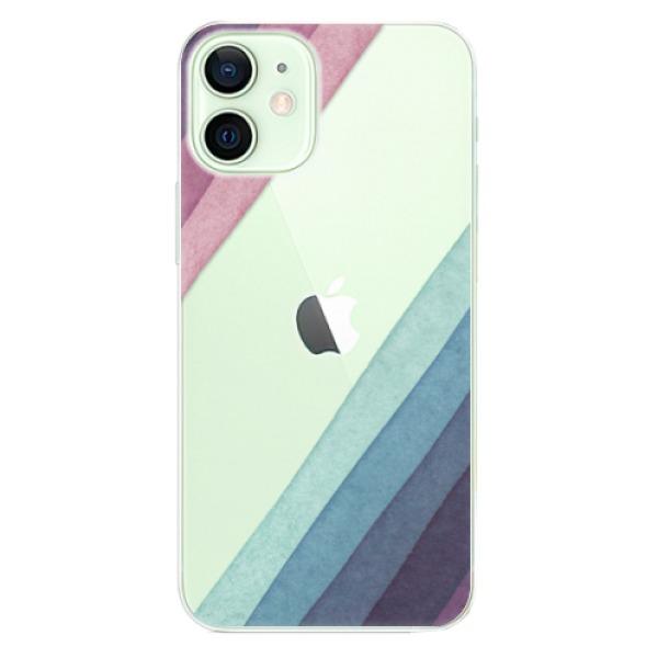 Odolné silikonové pouzdro iSaprio - Glitter Stripes 01 - iPhone 12 mini