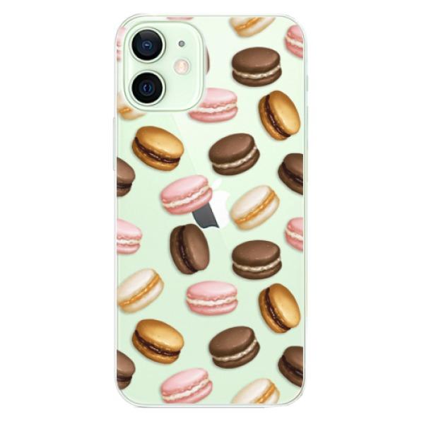 Odolné silikonové pouzdro iSaprio - Macaron Pattern - iPhone 12 mini