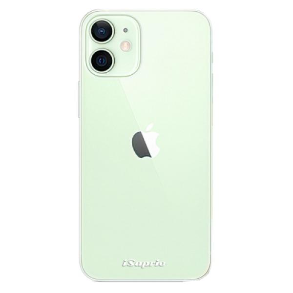 Odolné silikonové pouzdro iSaprio - 4Pure - mléčný bez potisku - iPhone 12 mini