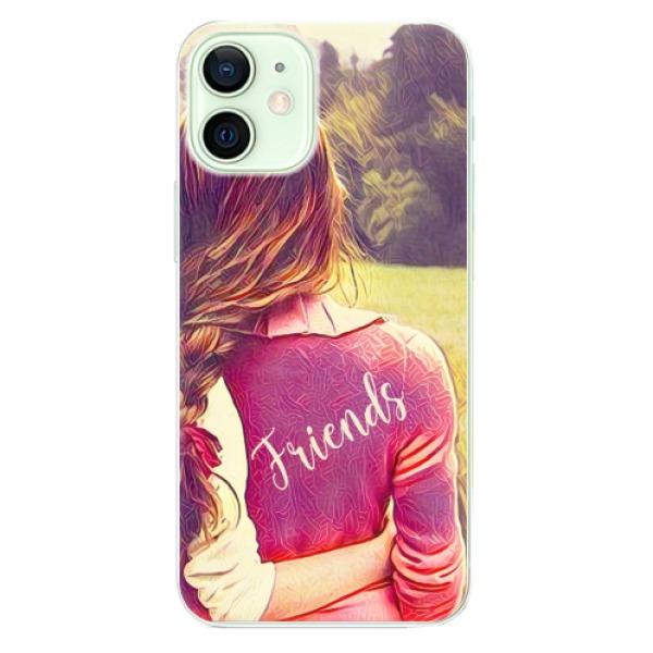 Odolné silikonové pouzdro iSaprio - BF Friends - iPhone 12 mini