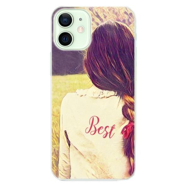 Odolné silikonové pouzdro iSaprio - BF Best - iPhone 12 mini