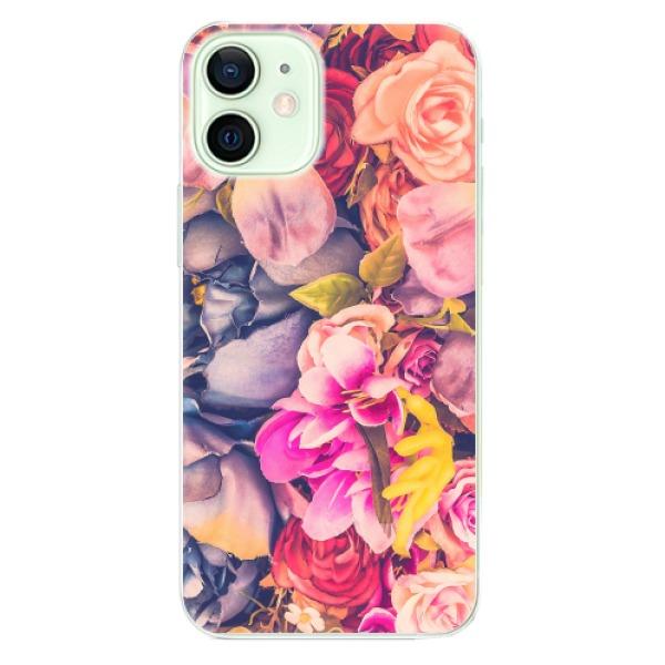 Odolné silikonové pouzdro iSaprio - Beauty Flowers - iPhone 12 mini