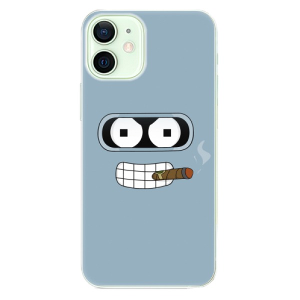 Odolné silikonové pouzdro iSaprio - Bender - iPhone 12 mini