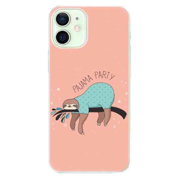 Odolné silikonové pouzdro iSaprio - Pajama Party - iPhone 12 mini