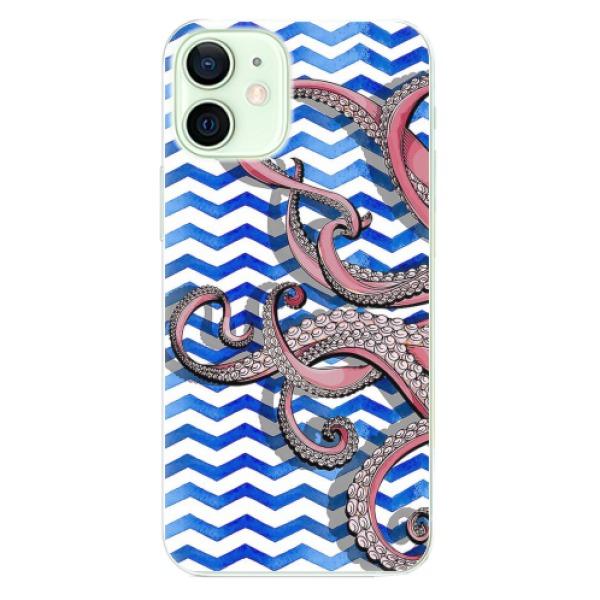 Odolné silikonové pouzdro iSaprio - Octopus - iPhone 12 mini