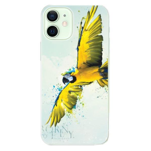Odolné silikonové pouzdro iSaprio - Born to Fly - iPhone 12 mini