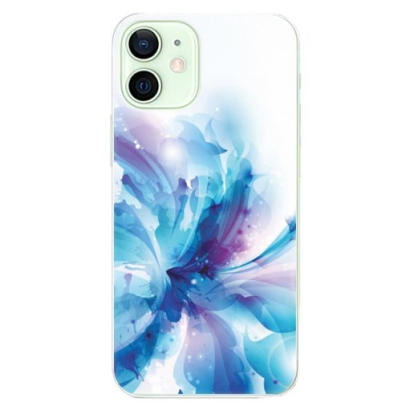 Odolné silikonové pouzdro iSaprio - Abstract Flower - iPhone 12 mini