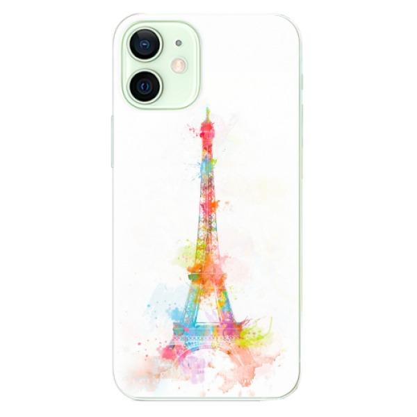 Odolné silikonové pouzdro iSaprio - Eiffel Tower - iPhone 12 mini