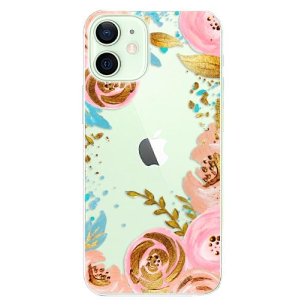 Odolné silikonové pouzdro iSaprio - Golden Youth - iPhone 12 mini