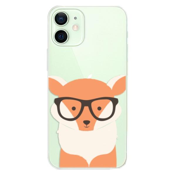 Odolné silikonové pouzdro iSaprio - Orange Fox - iPhone 12 mini
