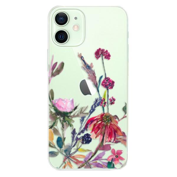 Odolné silikonové pouzdro iSaprio - Herbs 02 - iPhone 12 mini