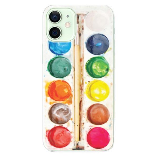 Odolné silikonové pouzdro iSaprio - Watercolors - iPhone 12 mini