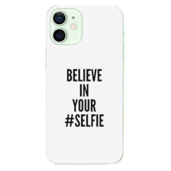 Odolné silikonové pouzdro iSaprio - Selfie - iPhone 12 mini