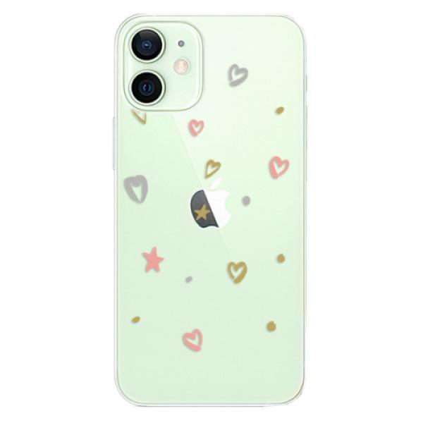 Odolné silikonové pouzdro iSaprio - Lovely Pattern - iPhone 12 mini
