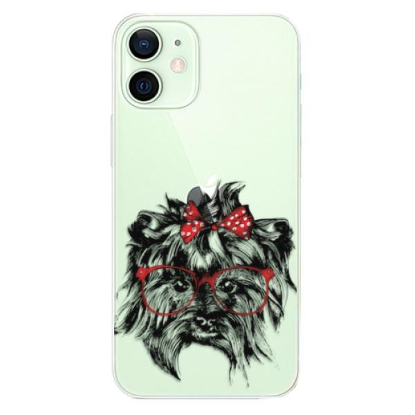 Odolné silikonové pouzdro iSaprio - Dog 03 - iPhone 12 mini