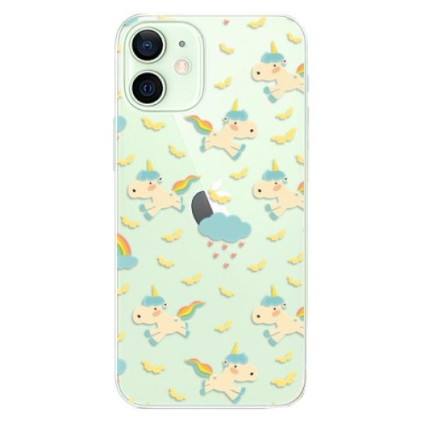 Odolné silikonové pouzdro iSaprio - Unicorn pattern 01 - iPhone 12 mini