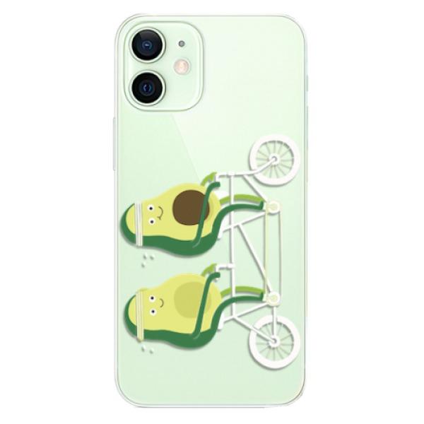 Odolné silikonové pouzdro iSaprio - Avocado - iPhone 12 mini
