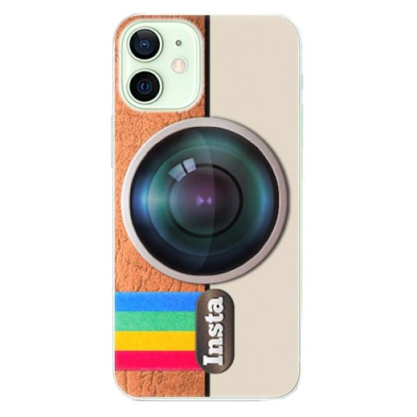Odolné silikonové pouzdro iSaprio - Insta - iPhone 12 mini