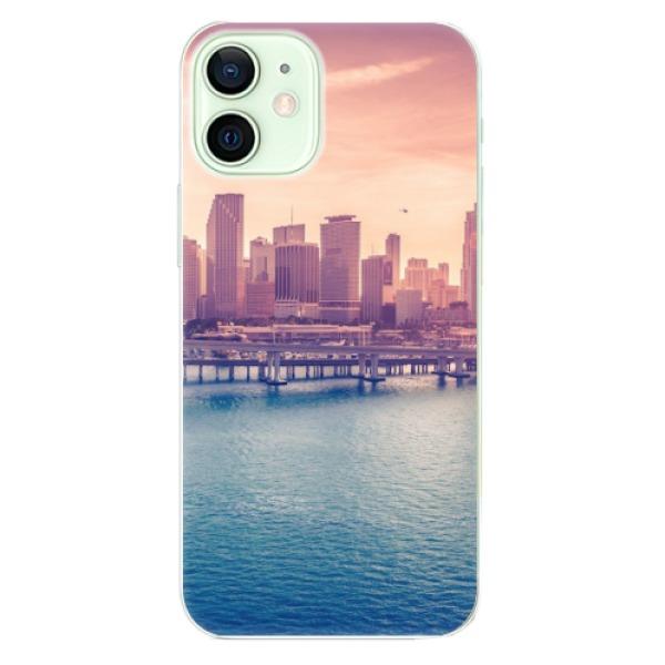 Odolné silikonové pouzdro iSaprio - Morning in a City - iPhone 12