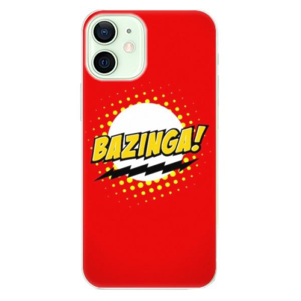 Odolné silikonové pouzdro iSaprio - Bazinga 01 - iPhone 12