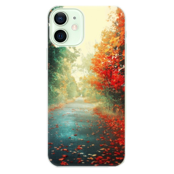 Odolné silikonové pouzdro iSaprio - Autumn 03 - iPhone 12