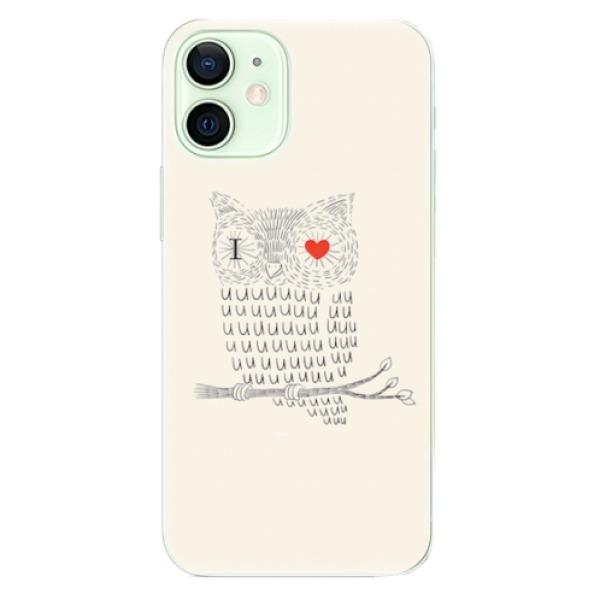 Odolné silikonové pouzdro iSaprio - I Love You 01 - iPhone 12