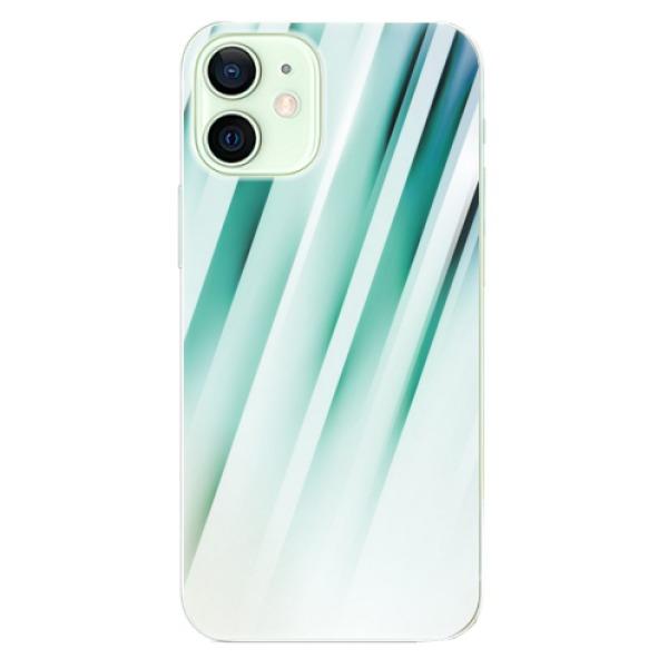 Odolné silikonové pouzdro iSaprio - Stripes of Glass - iPhone 12