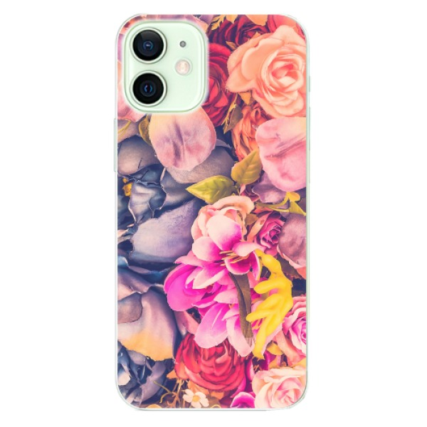Odolné silikonové pouzdro iSaprio - Beauty Flowers - iPhone 12