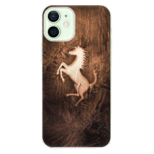 Odolné silikonové pouzdro iSaprio - Vintage Horse - iPhone 12