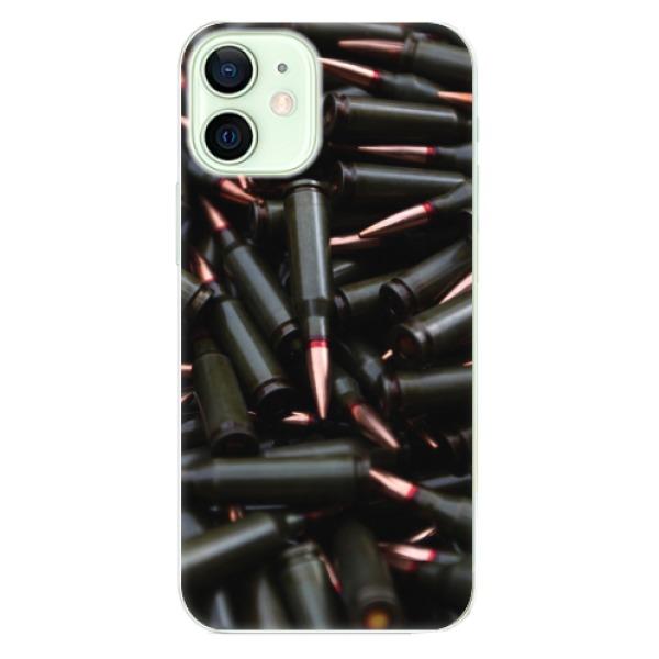 Odolné silikonové pouzdro iSaprio - Black Bullet - iPhone 12