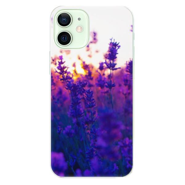 Odolné silikonové pouzdro iSaprio - Lavender Field - iPhone 12