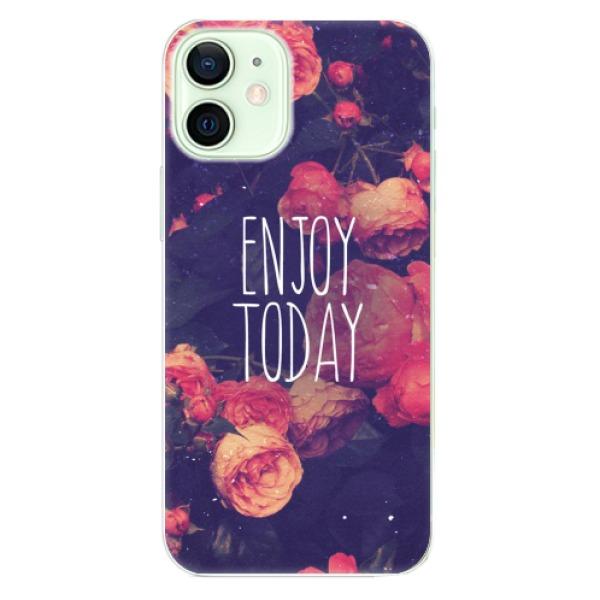 Odolné silikonové pouzdro iSaprio - Enjoy Today - iPhone 12