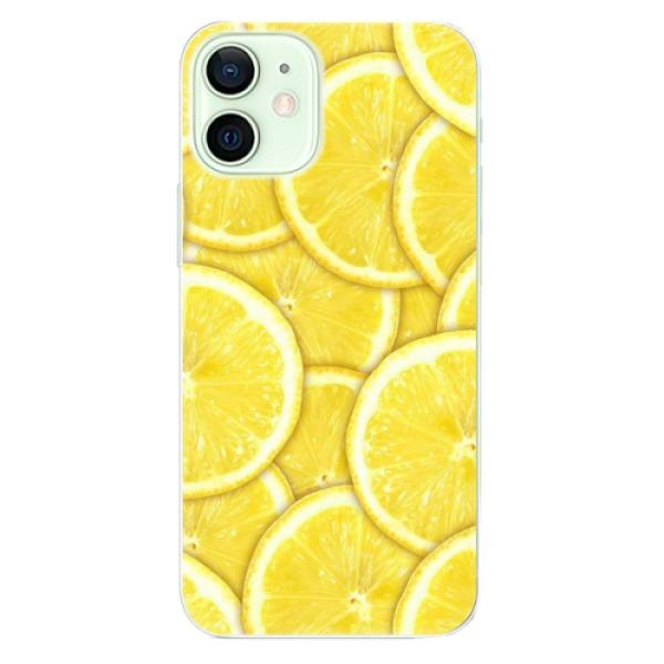 Odolné silikonové pouzdro iSaprio - Yellow - iPhone 12