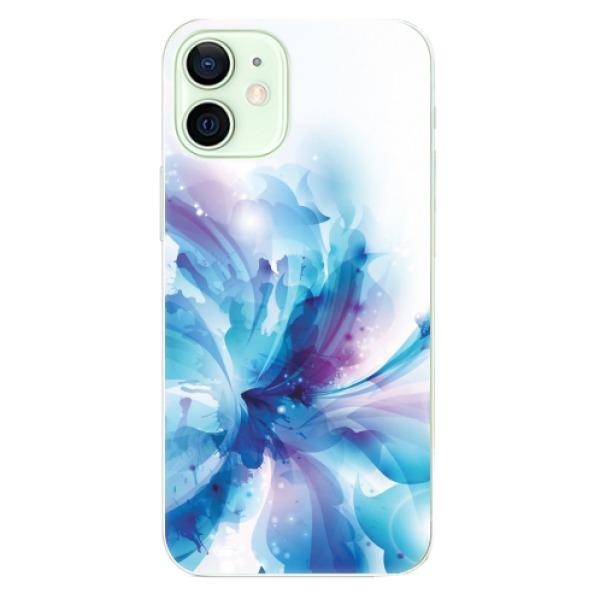 Odolné silikonové pouzdro iSaprio - Abstract Flower - iPhone 12