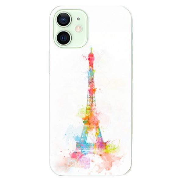 Odolné silikonové pouzdro iSaprio - Eiffel Tower - iPhone 12