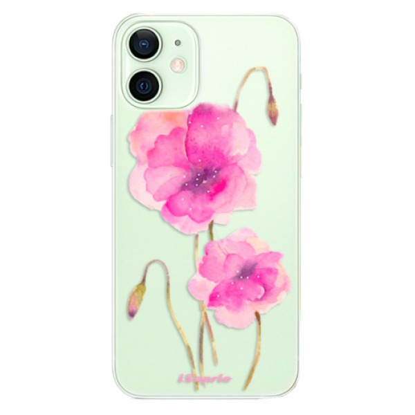 Odolné silikonové pouzdro iSaprio - Poppies 02 - iPhone 12