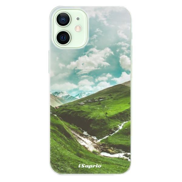 Odolné silikonové pouzdro iSaprio - Green Valley - iPhone 12
