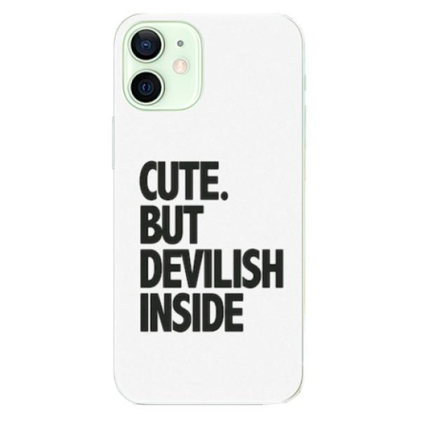 Odolné silikonové pouzdro iSaprio - Devilish inside - iPhone 12