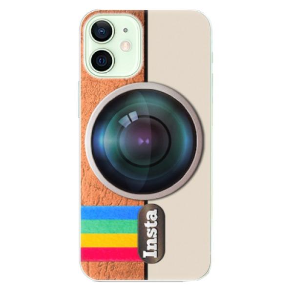 Odolné silikonové pouzdro iSaprio - Insta - iPhone 12