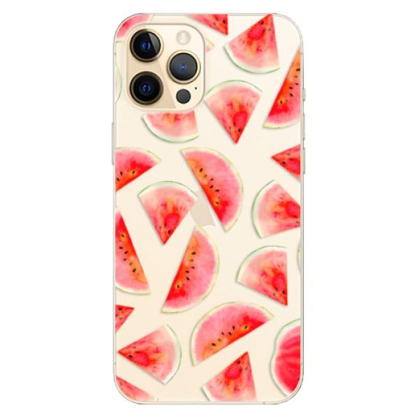 Odolné silikonové pouzdro iSaprio - Melon Pattern 02 - iPhone 12 Pro