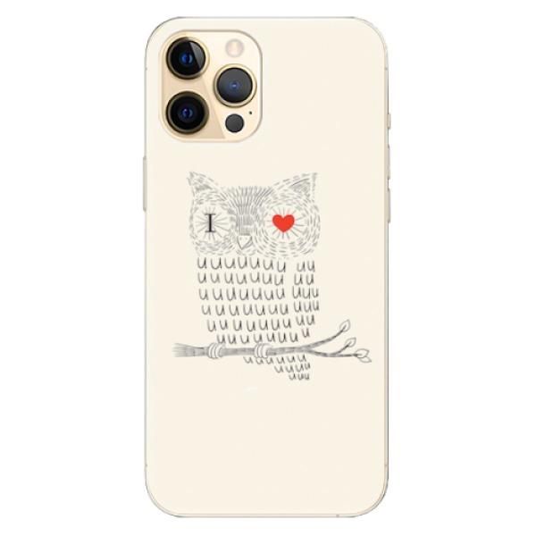 Odolné silikonové pouzdro iSaprio - I Love You 01 - iPhone 12 Pro